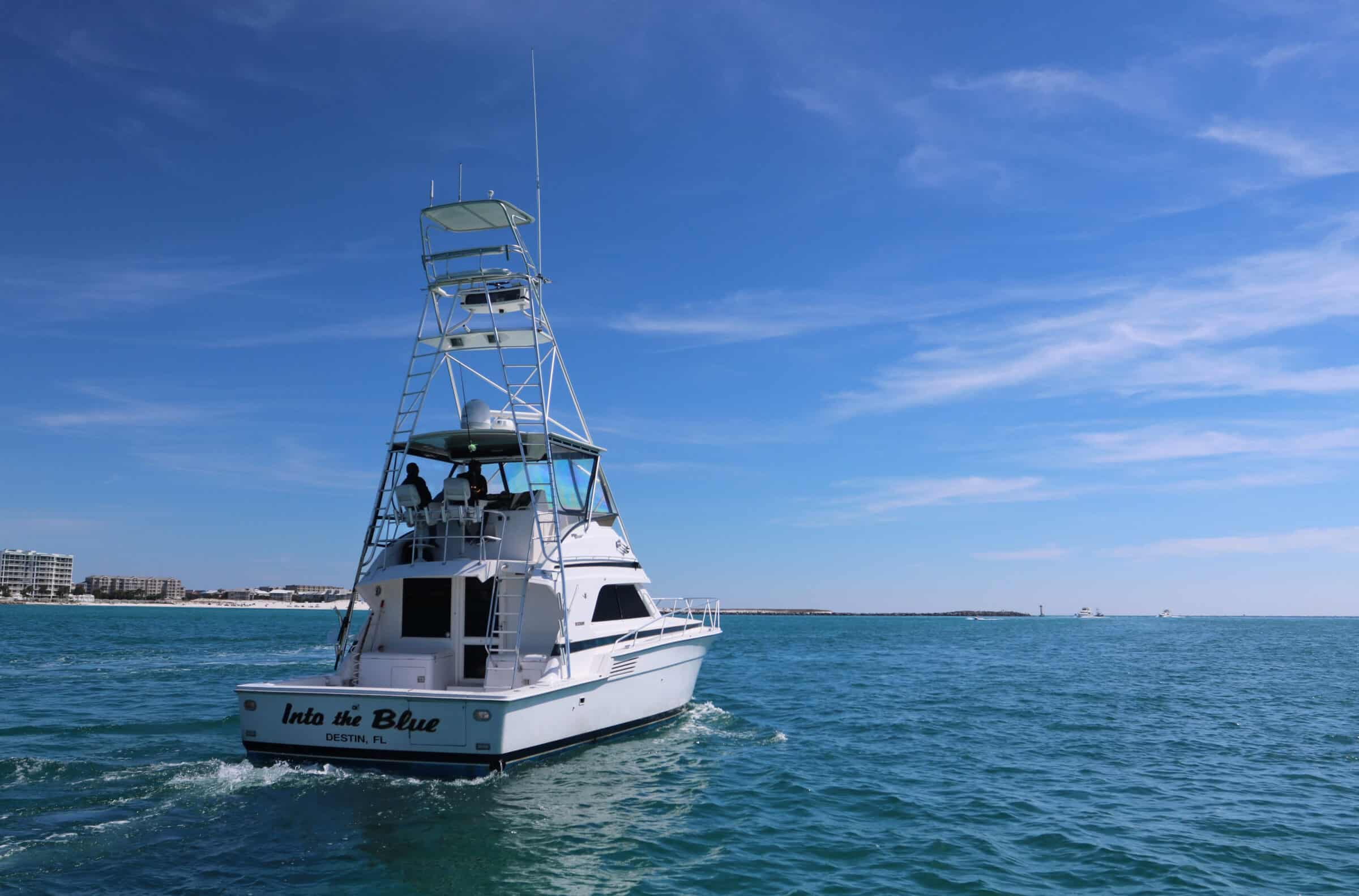 Destin Fishing Charters - Overnight Fishing Charter On The Gulf Of Mexico