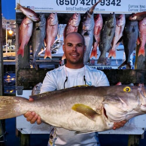 Private Fishing Charters - Grouper Fishing Trips 01